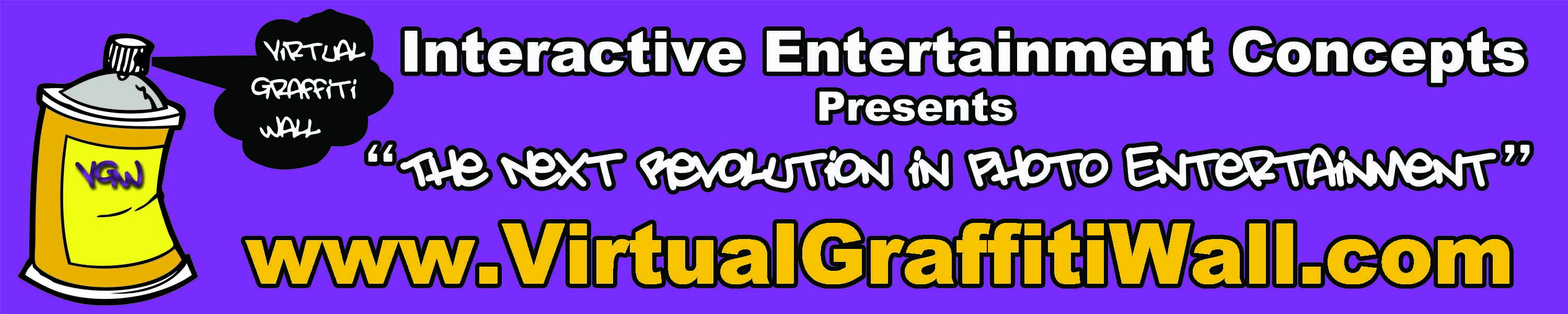 Virtual Graffiti Wall - The Next Revolution in Photo Entetainment