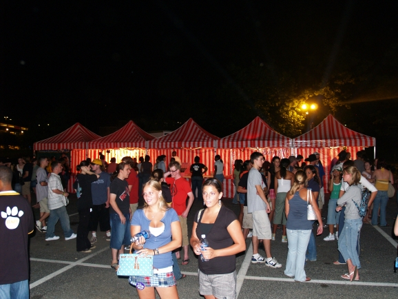 College Campus Carnival Event