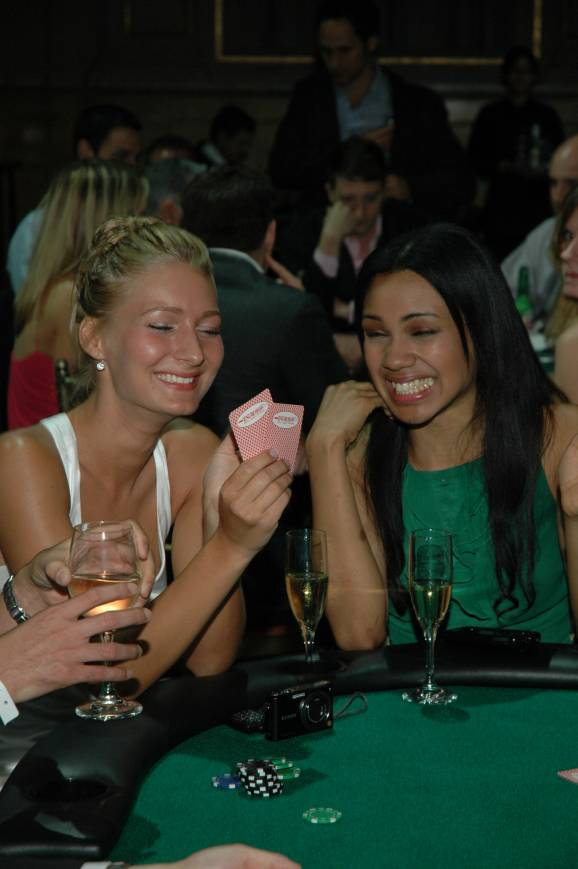 Cute Poker Players