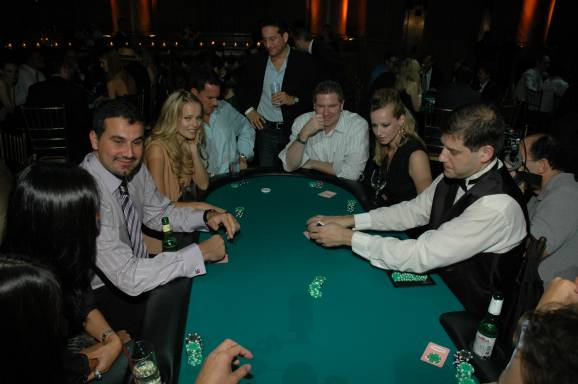 Poker Table Action