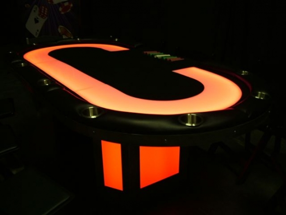 Light up Poker Table
