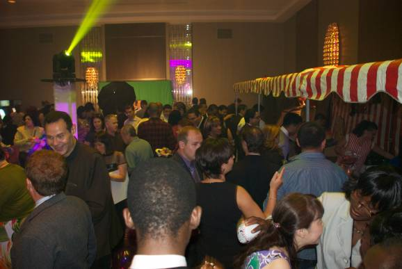 Corporate Carnival Fundraiser room
