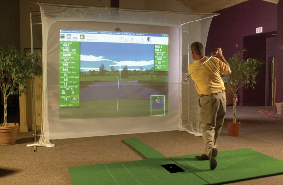 Trade Show Golf Simulator