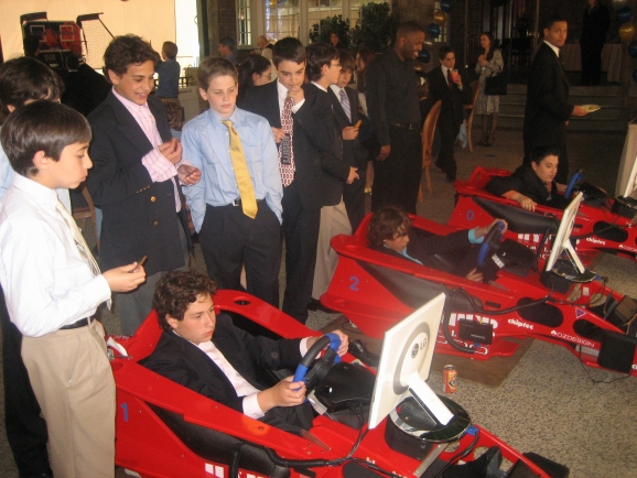 Bar/Bat Mitzvah Virtual Racecars