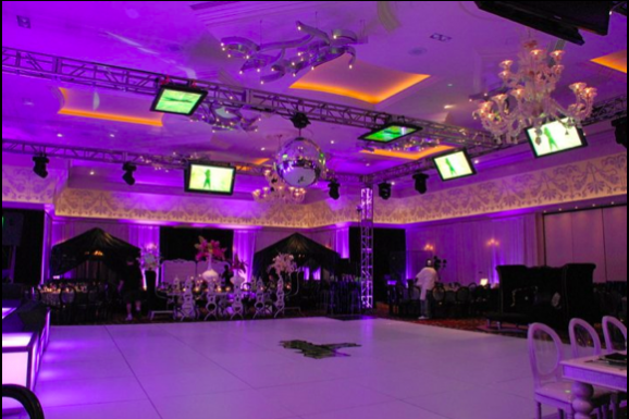 Dance Floor with Plasmas