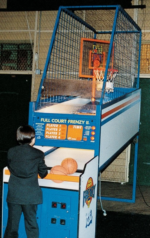 Trade Show Basketball Frenzy