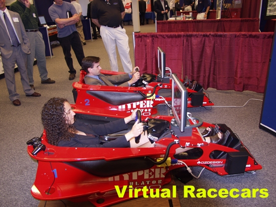 Trade Show VR Racecars