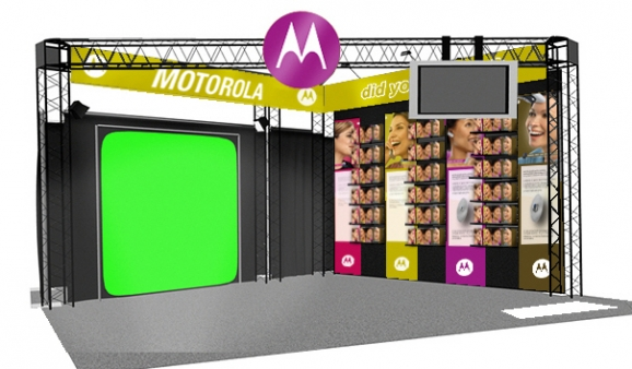Trade Show Greenscreen Photography Setup